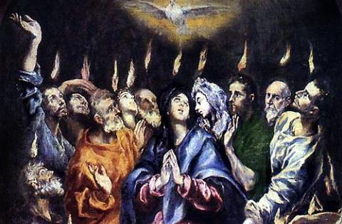 Il discorso di Pietro a Pentecoste (Mario Masini)