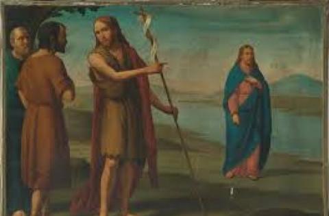 Cap. III,  Gesù e Giovanni il Battista