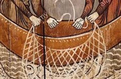 Produzione e manutenzione delle reti nel mare di Galilea