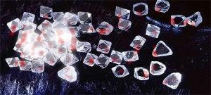 Diamanti rosso-sangue