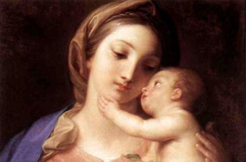 Maria ed il suo pargoletto