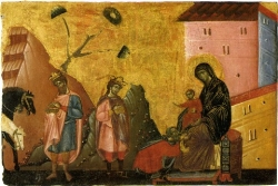 Dialogo tra i Magi e Maria (Efrem Siro)