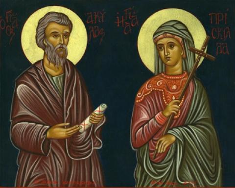Aquila e Priscilla. In due per il Vangelo