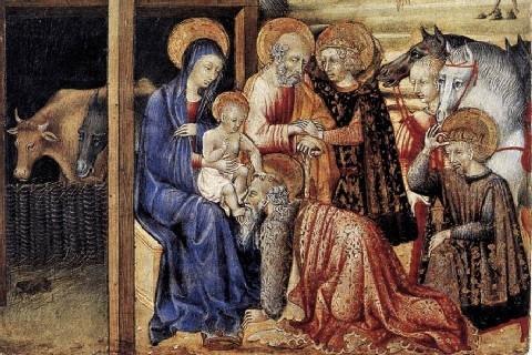 I pastori parlano della stella ai magi (Giovanni di Hildesheim)