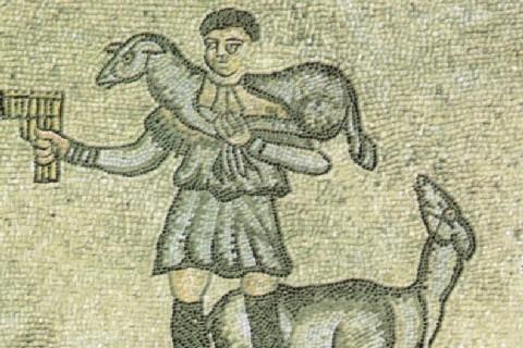 Il buon pastore (Giovanni Vannucci)