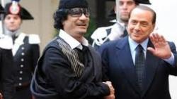 I mezzi di Gheddafi