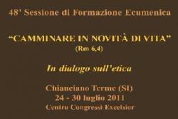 Dialogo e confronto sull'etica. Sessione SAE 2011 (Giovanni Cereti)