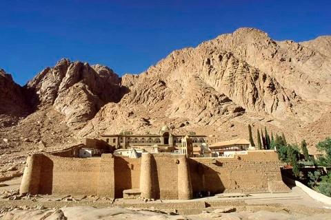 Il monastero di santa Caterina sul Sinai