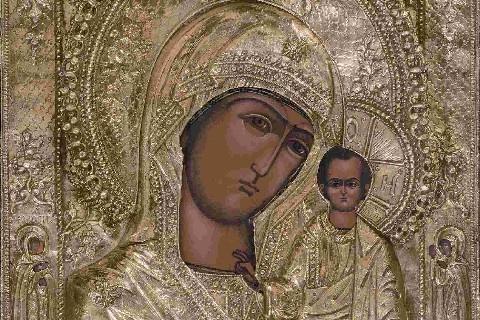 """La Madre di Dio, """"Terra promessa"""" (Inno Acatisto, XI) (Michelina Tenace)"""