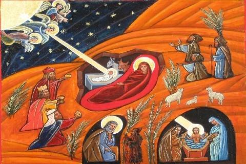 [Il giorno della nascita di Gesù] (Ahmad Chawki)