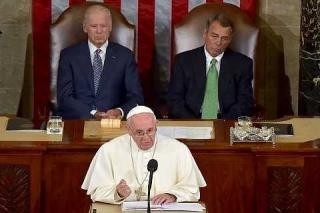 El discurso del Papa en el Congreso sonó como los discursos proféticos de Luther King (José M. Castillo)