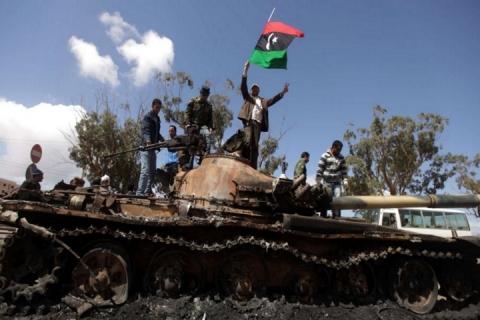 Di chi erano le armi usate in Libia?