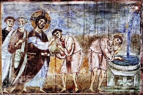 Humain et divin sont désormais une même réalité. L'aveugle-né (Fray Marcos)