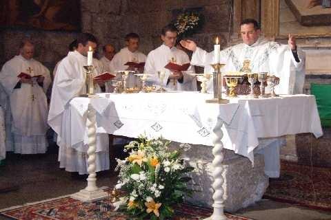 La quarta preghiera eucaristica
