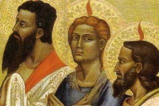 La discesa dello Spirito (Giovanni Vannucci)