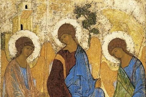 """La teologia della """"Trinità"""" di Rublëv (Aleksandr Vetelev)"""