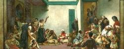 E. Delacroix - Nozze ebraiche, part.